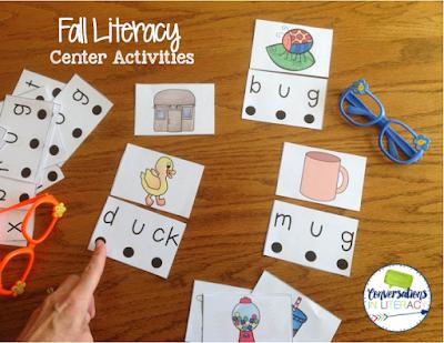 CVC literacy center activites