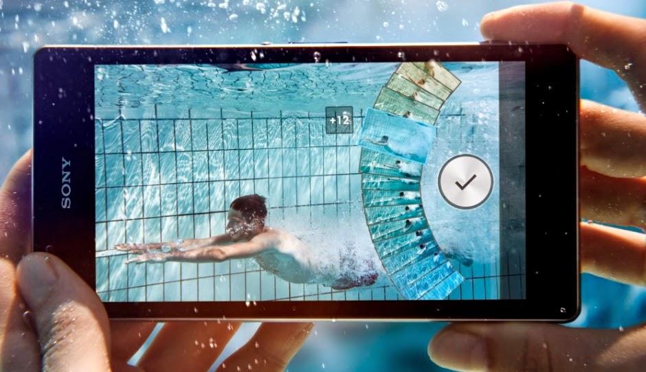 Gambar Review Sony Xperia Z1