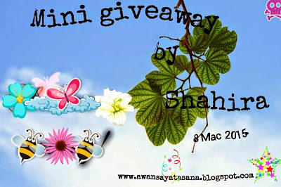 Mini Giveaway by Shahira