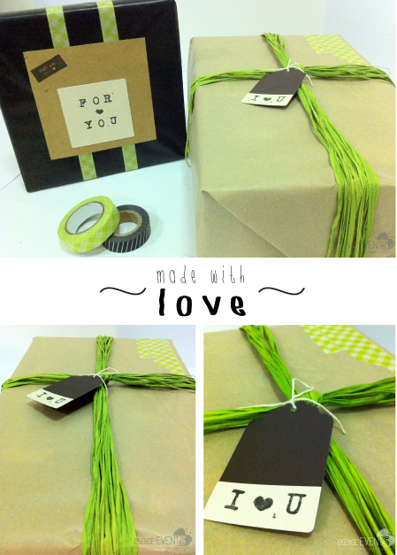 made with love packaging