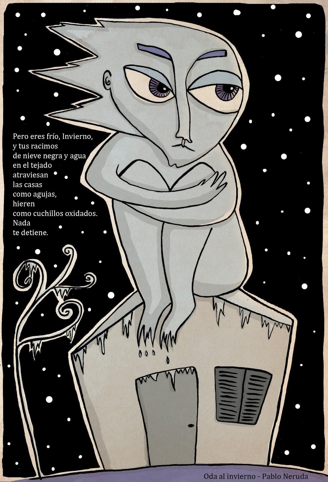 Lejana invierno sobre un poema de neruda for Poemas de invierno pablo neruda