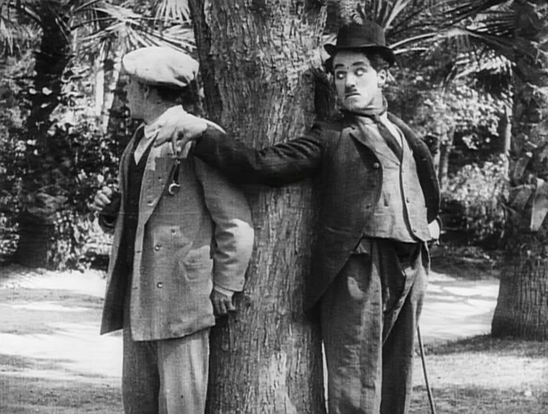 Fotograma de la película : Twenty Minutes of Love (20 minutos de amor) de Charles Chaplin