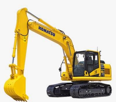 Komatsu Excavators PC170LC-10