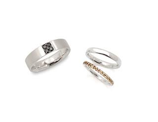 セミオーダーマリッジリング(結婚指輪)を自由にデザインする。