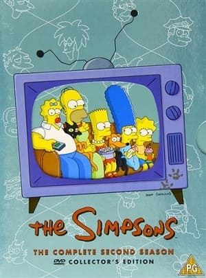 Os Simpsons - 2ª Temporada Desenhos Torrent Download capa