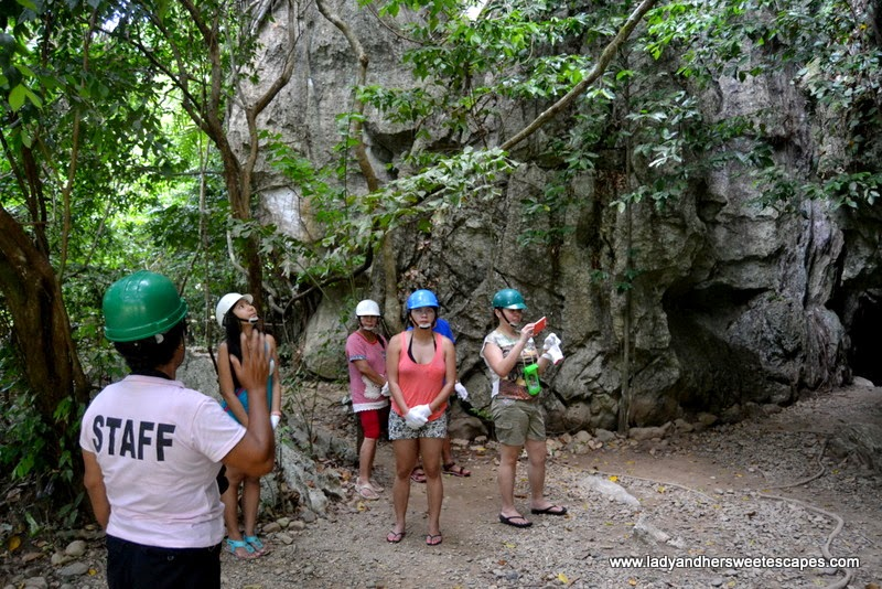 Ugong Rock Adventures' cave entrance