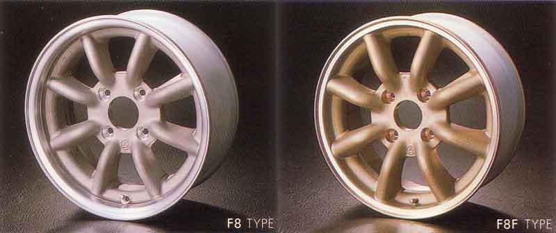 Racing Service Watanabe felgi rims wheels japońskie kultowe JDM wzory broszura katalog
