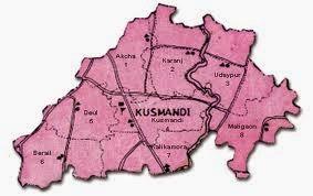 kushmandi map