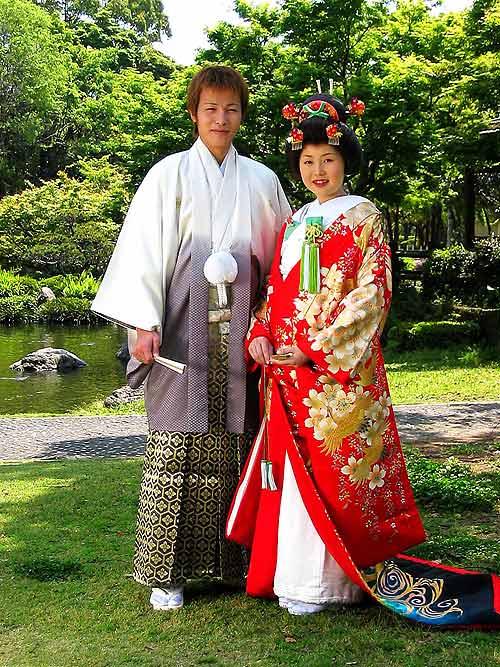 Coutumes de mariage asiatique