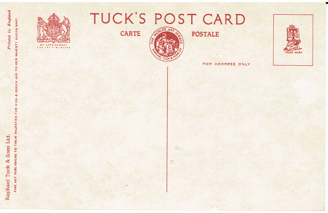 publishers Vintage postcard