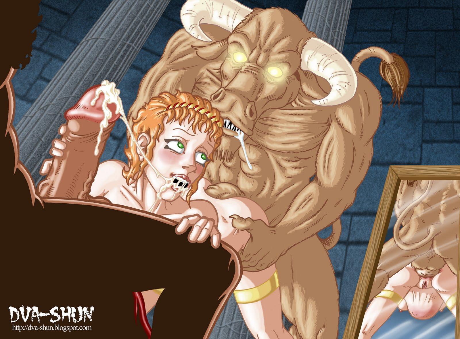 Minotaur slaves hentai xxx pic