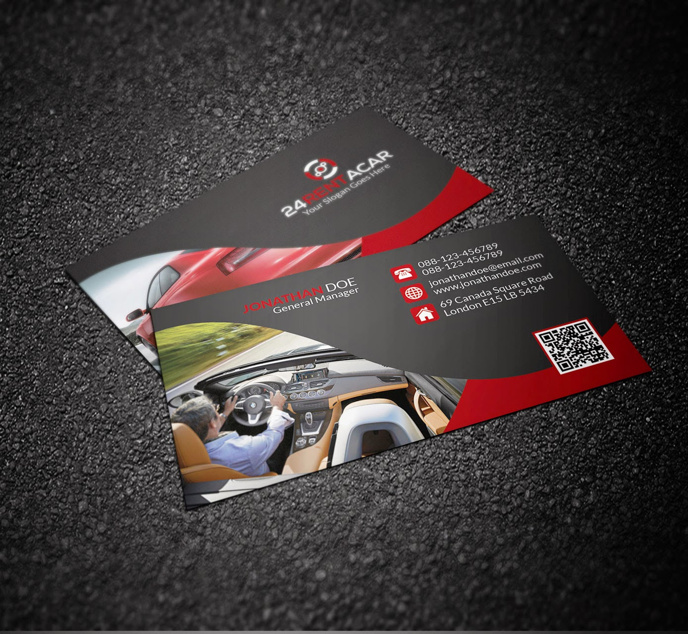 Car business cards gallery free business cards graphicwind rent a car business card rent a car business card magicingreecefo gallery magicingreecefo Gallery