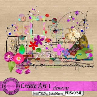 HSA Create Art  elementen