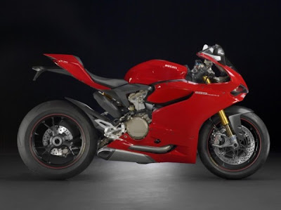 2012 Ducati 1199 Panigale Side View