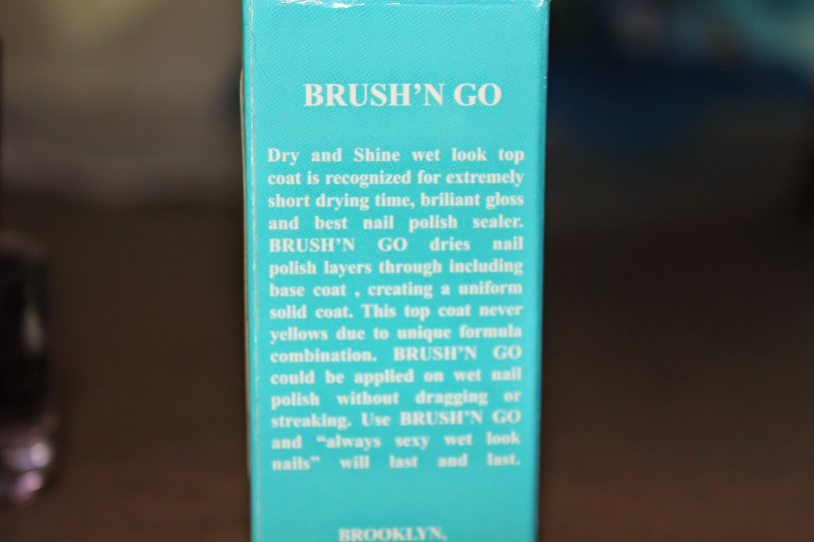 Duri Brush 'n Go Top Coat Review