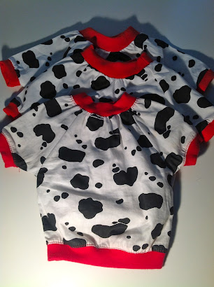 Lilly Foschino Dog Fashion Cow shirts