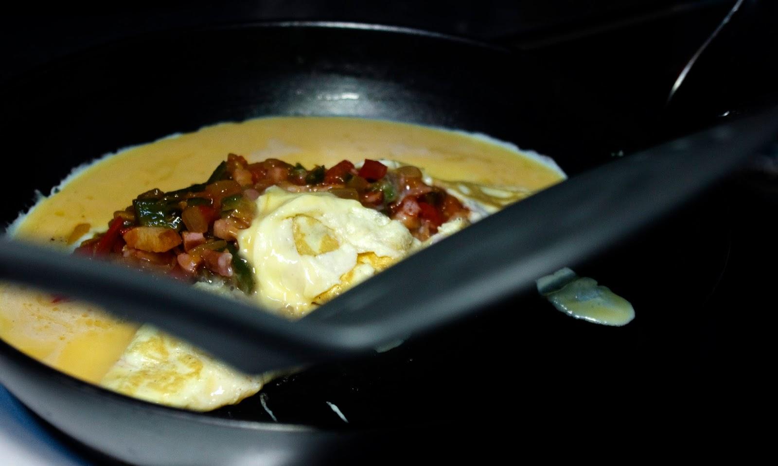 envolvemos las verduras con la tortilla
