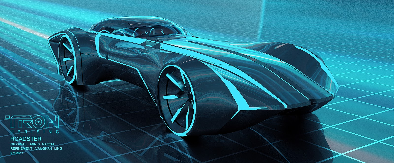 Tron uprising roadster