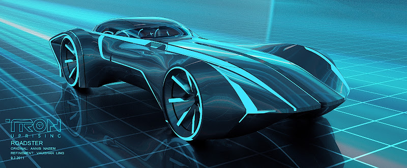 Tron Uprising Roadster title=