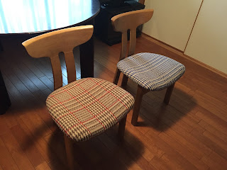 椅子の張り替え オズボーン&リトル