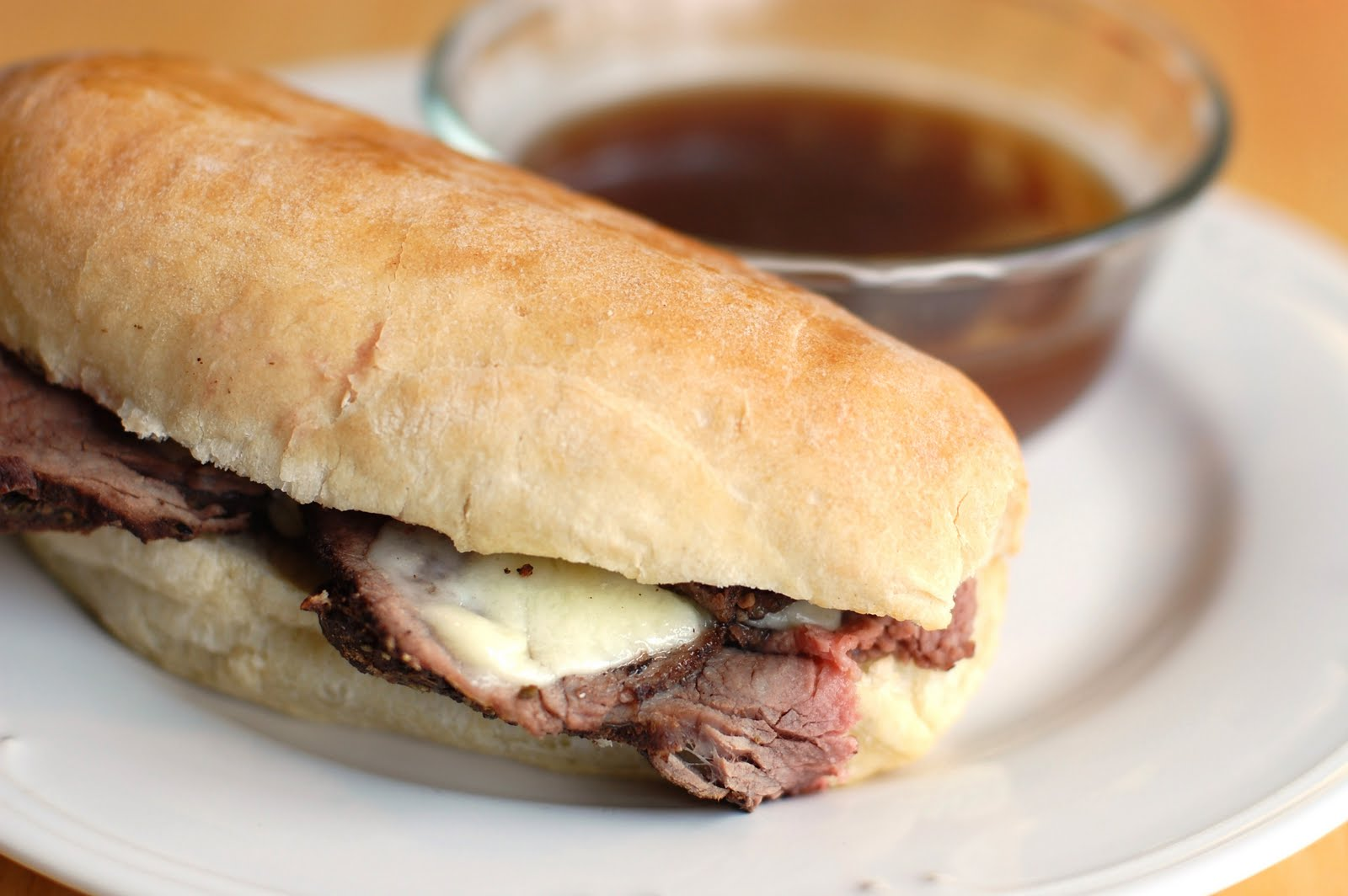 Barefoot and Baking: French Dip Sandwiches