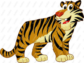 Cartoon Tiger Clip Art