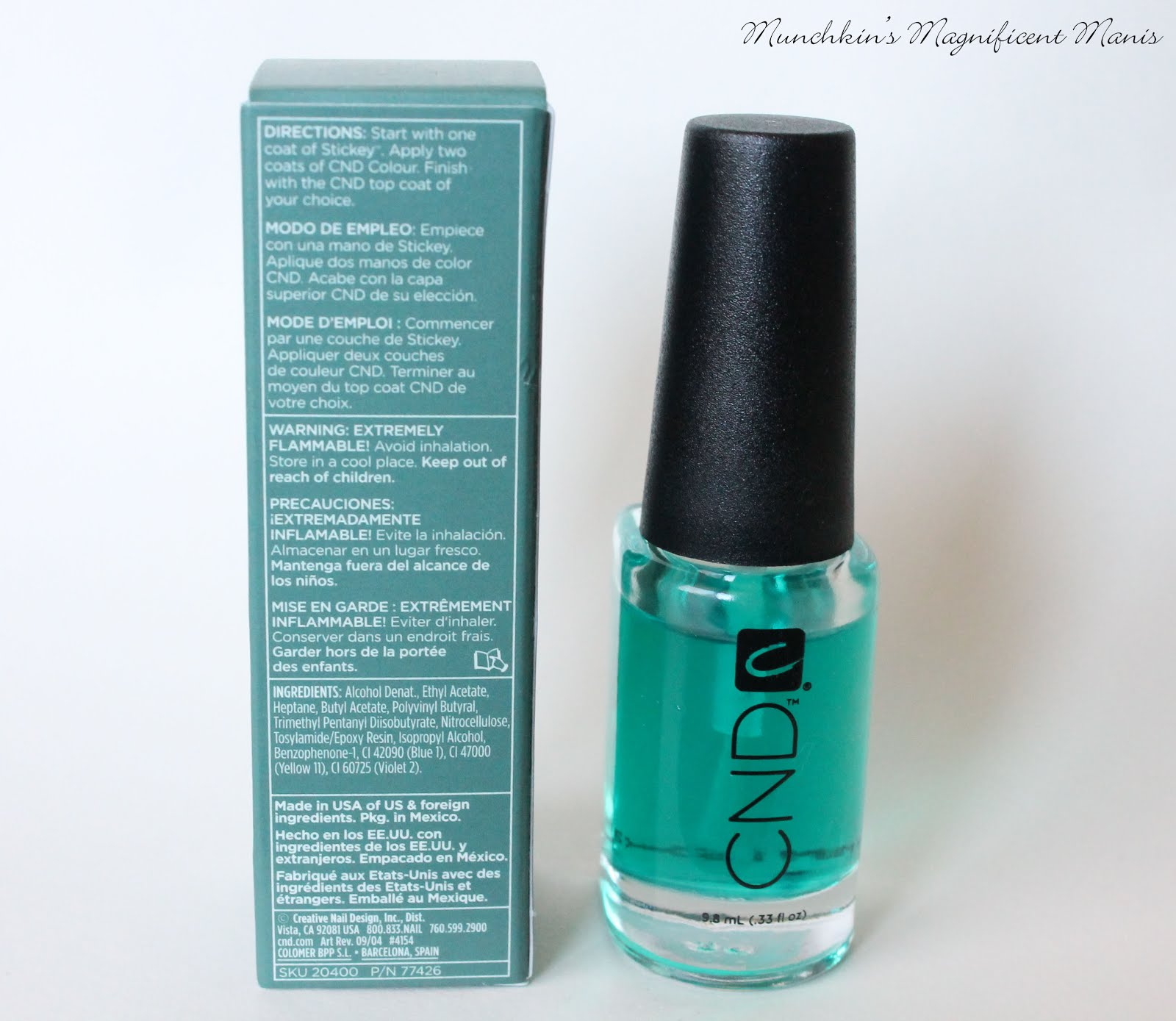 Cnd Sticky Base Coat