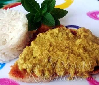 receita de filé de peixe abadejo com molho fácil de manjericão