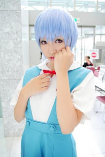Ameri Cosplay as Ayanami Rei (Seifuku) from Evangelion