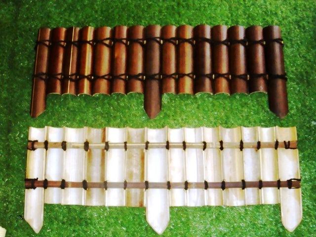 Bamboo Garden Edging8