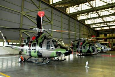Helikopter Bell 412 EP TNI-AD
