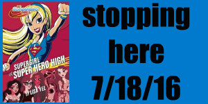 supergirl at super hero high blog tour