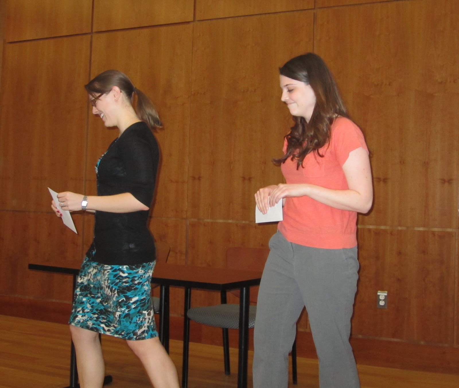 villanova english pictures from the awards ceremony rebecca hepp and cara saraco co winners of the the margaret powell esmonde memorial award for the most distinguished graduate essay written in a villanova