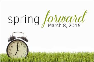 Daylight Savings Time - March 8