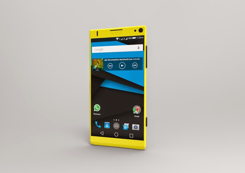 konsep smartphone nokia dengan os android