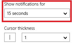 Increasing/Decreasing the Notification time of metro apps in windows 8