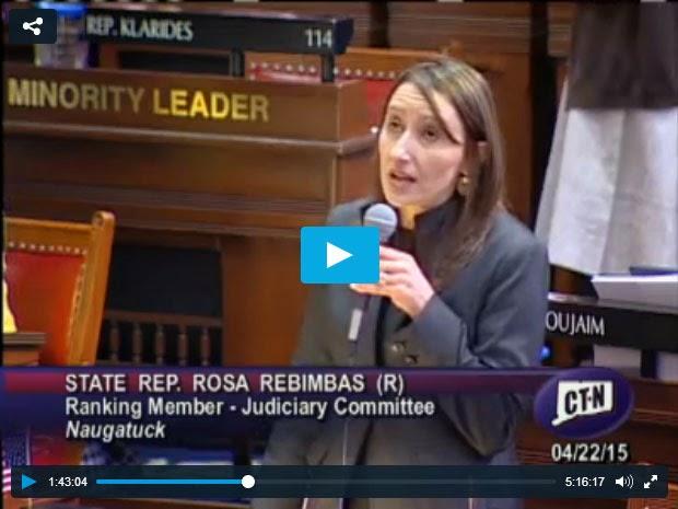 Rosa Rebimbas, State Representative (Naugatuck)
