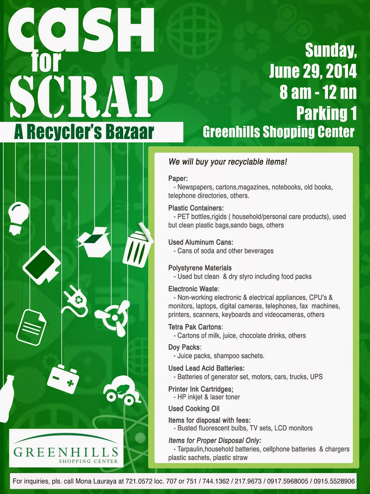 Cash for Scrap: A Recyclers' Bazaar