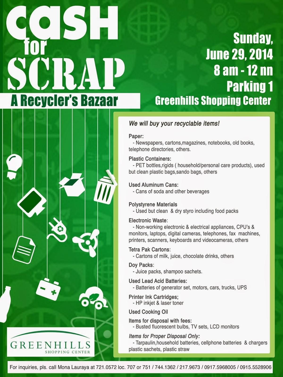 Cash for Scrap: A Recyclers' Bazaar