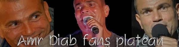 Amr Diab fans plateau