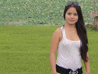 Hor Raksakosal Khmer Cute Girl With Nature Photo 1