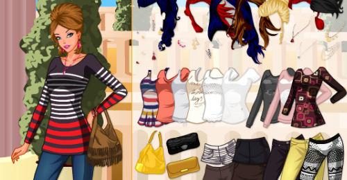 Juegos de vestir, maquillaje y peinar: moda, ropa, diseño y vestidos
