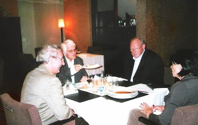 José María Gutiérrez Dopino, Lothar Schmid y Geurt Gijssen en Valencia en 2009