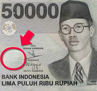 Ada Sesuatu di Uang 50ribu yang Lama
