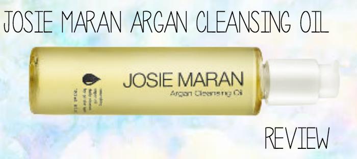 REVIEW | Josie Maran Argan Cleansing Oil