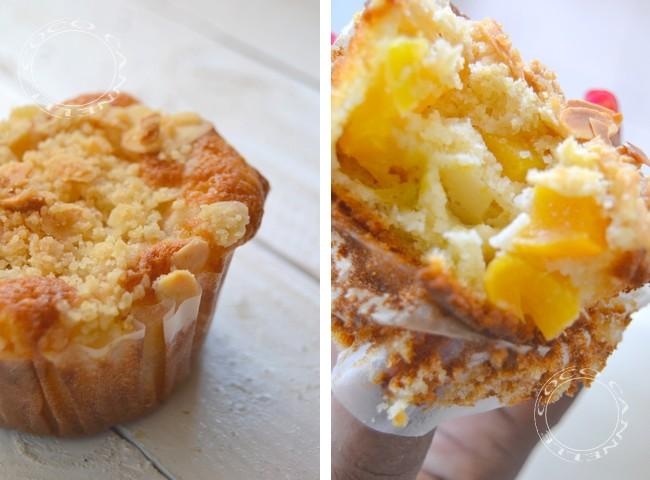 coco cannelle muffins crumble aux abricots et aux amandes. Black Bedroom Furniture Sets. Home Design Ideas