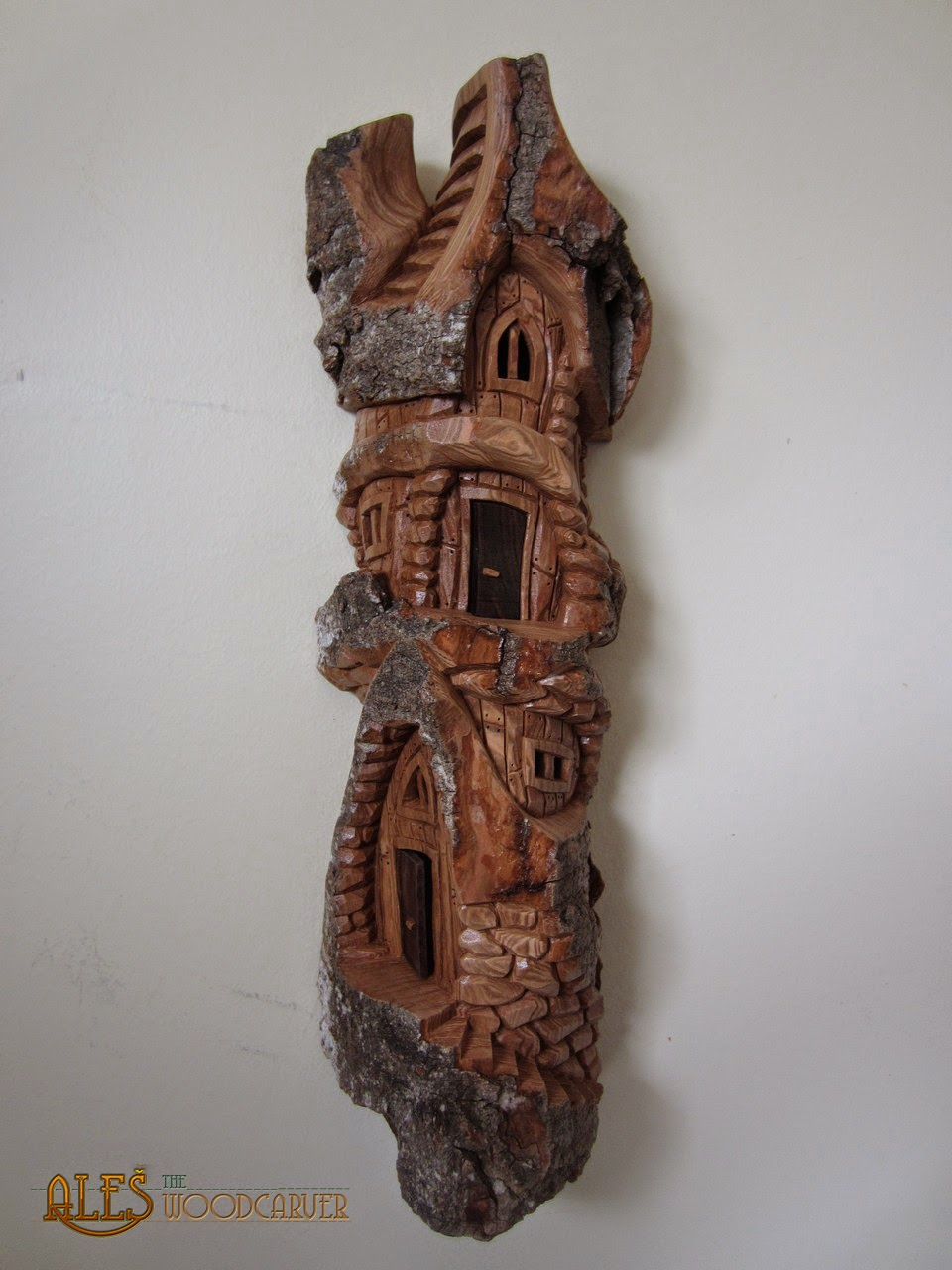 Wood carving whimsical houses bing images