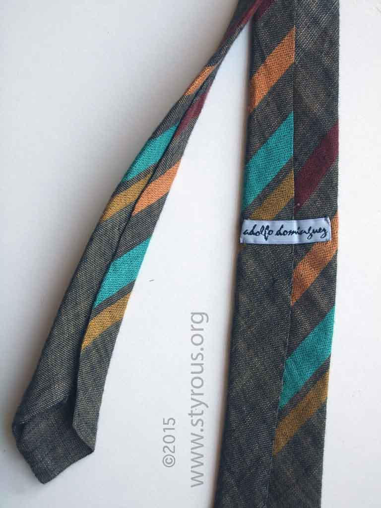 the styrous viewfinder adolfo domi nguez la corbata