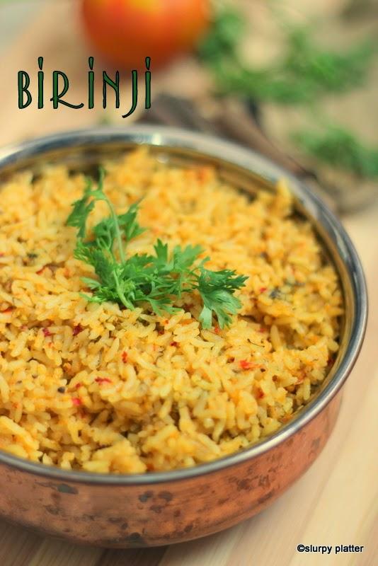 Birinji, flavourful rice dish