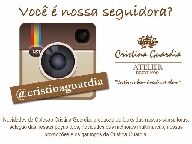 Estamos no Insta @cristinaguardia